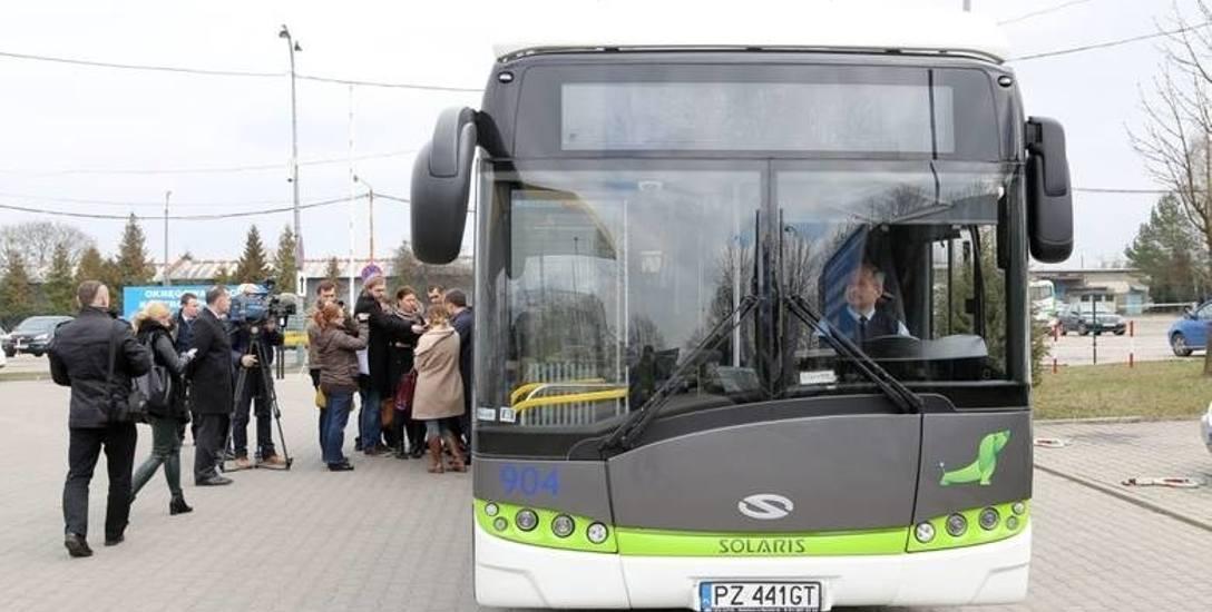 Autobus komunikacji miejskiej w Białymstoku