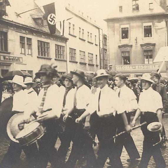 Korowód przeszedł ulicami miasta 15 września 1934 r.