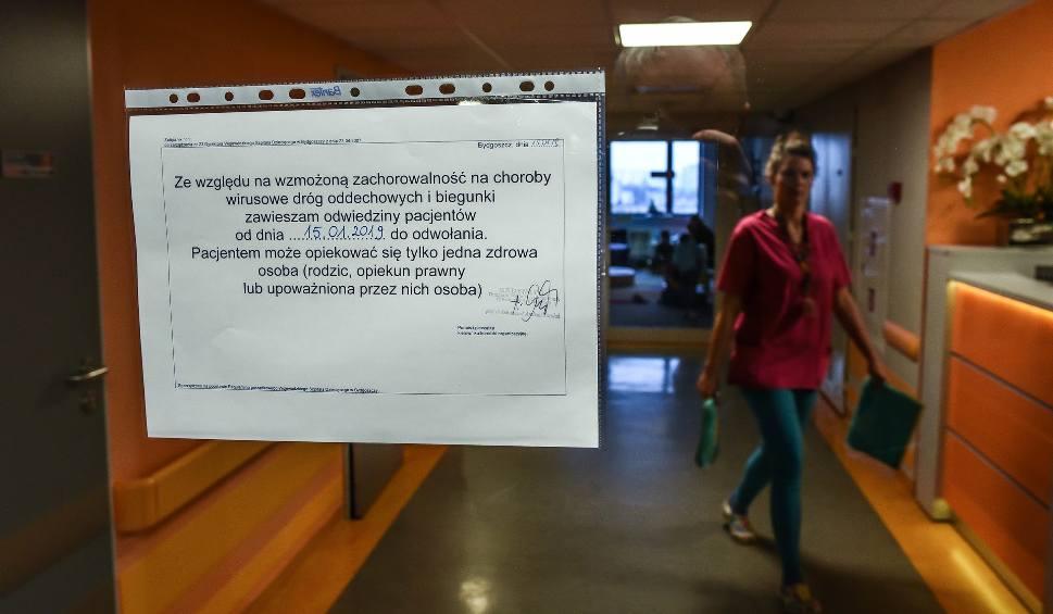 Film do artykułu: Grypa i infekcje atakują. W Wojewódzkim Szpitalu Dziecięcym w Bydgoszczy wstrzymano odwiedziny pacjentów
