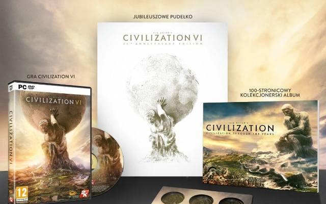 Civilization VI: Specjalne wydanie z okazji 25-lecia serii