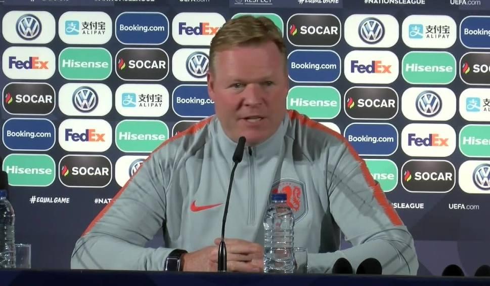 """Film do artykułu: Holendrzy zatrzymają Ronaldo? """"Jeśli wygramy Ligę Narodów, to przejdziemy do historii"""""""