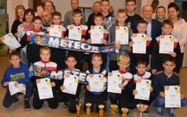 Młodzież świętowała ligowy awans