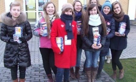 Grupa bielińskich wolontariuszy.