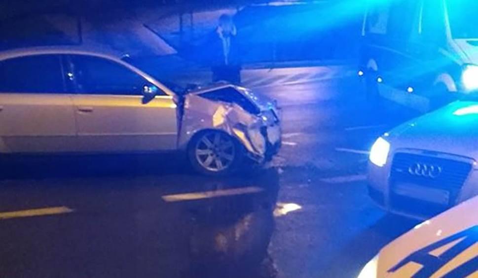 Film do artykułu: W Gorzowie zderzyły się dwa audi. Jeden z kierowców miał zakaz prowadzenia pojazdów [ZDJĘCIA]