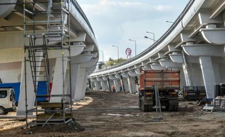 Estakada katowicka już na ukończeniu - wrzesień 2017 r.