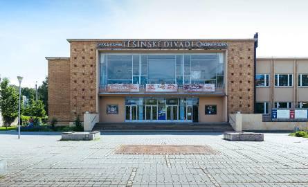 Budynek teatru w Czeskim Cieszynie