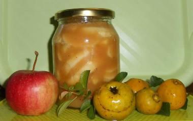 Jabłka z pigwą na zimę.