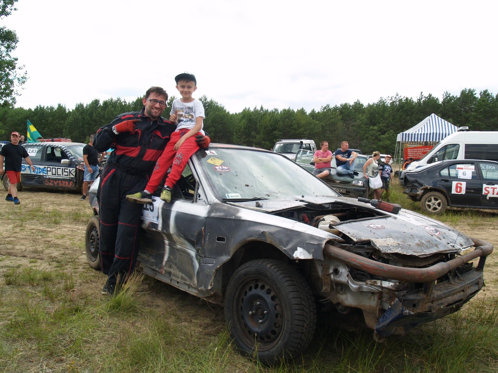Lech Kurpiewski z synem