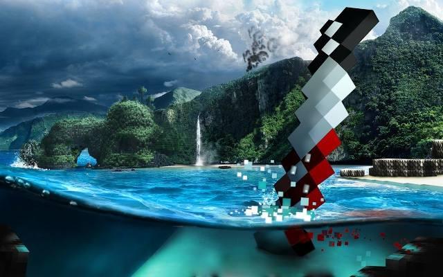 Minecraft i Far Cry 3: Kwadratowe szaleństwo