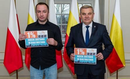1% niech zostanie w Białymstoku. Cira i Tadeusz Truskolaski namawiają białostoczan (zdjęcia, wideo)