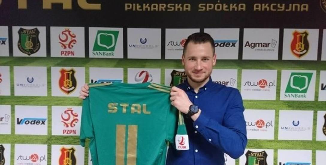 Patryk Stefański jest zadowolony ze swojego nowego klubu