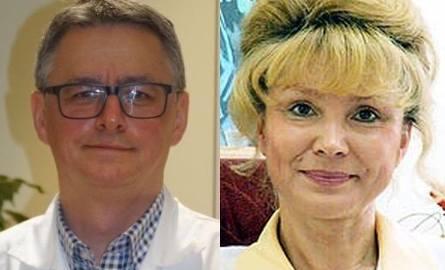 doktor Piotr Kędzierawski oraz doktor Grażyna Majcher-Witczak otrzymali Nagrodę Anioły Medycyny.