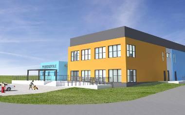 Tak mają wyglądać budynki żłobka i przedszkola.