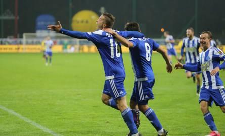 GKS Katowice - Ruch Chorzów 1:2. Derby na Bukowej wygrali Niebiescy
