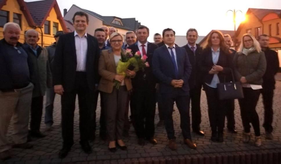 Film do artykułu: Minister Beata Kempa w Kazimierzy Wielkiej. Zachęcała do pójścia na wybory