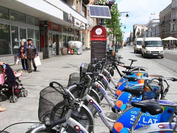 Rowery jeżdżą albo ... leżąIntegracja systemów ma zwiększyć zainteresowanie użytkowników. Podczas gdy system łódzki jest popularny -  w ubiegłym sezonie