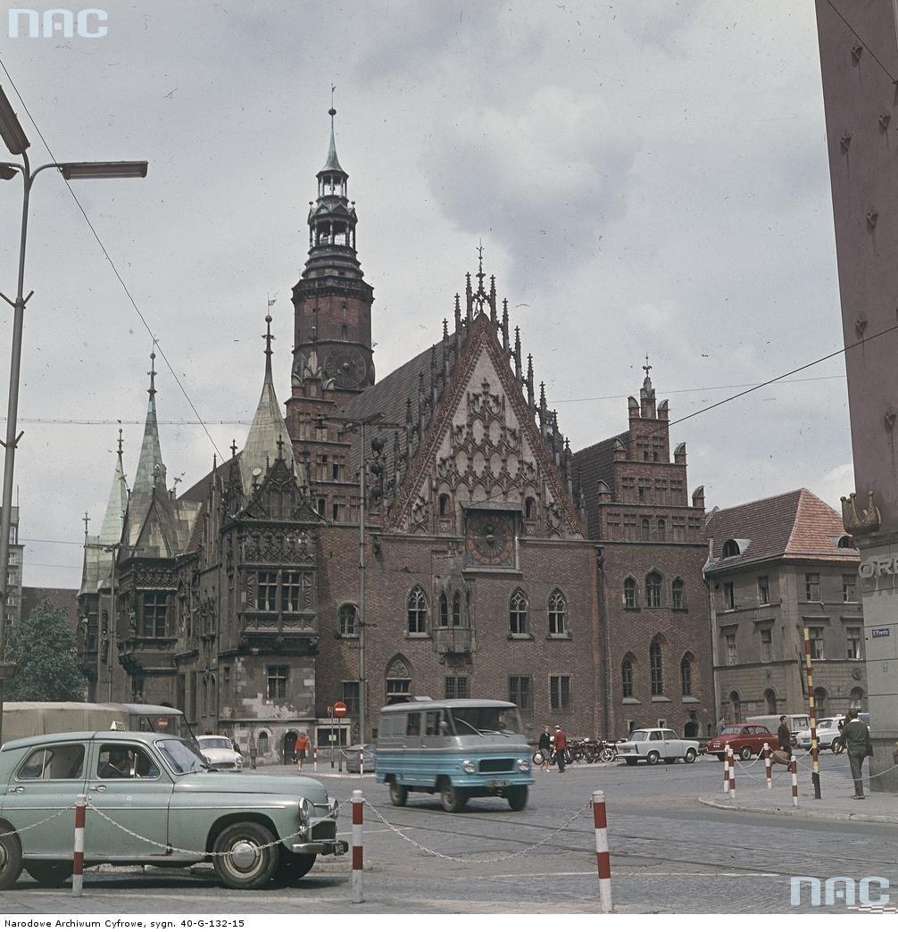 Żuk na ulicach Wrocławia, 1968 rok