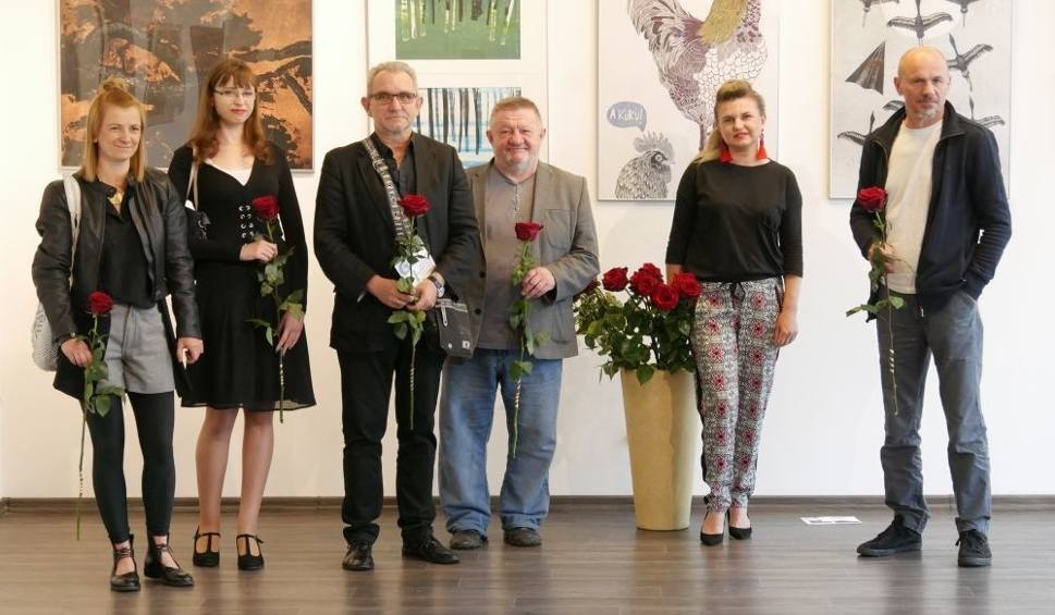 """Film do artykułu: Kozienice. """"Grafika z Wydziału Sztuki"""" – nowa wystawa w Centrum Kulturalno-Artystycznym już otwarta"""