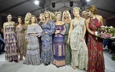 Edyta Herbuś, Katarzyna Glinka i Ewa Gawryluk na wybiegu w Krakowie. Jak wypadły?