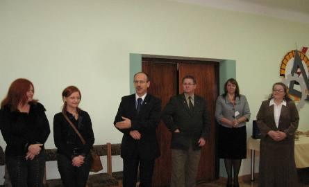 Ideę wystaw o Honorowych Obywatelach Radomia przypomniał wiceprezydent, Ryszard Fałek