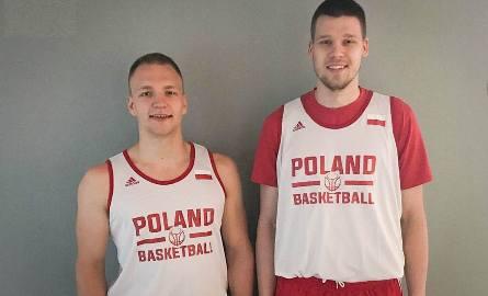 Filip Zegzuła (z lewej), Maciej Bojanowski w kadrze B