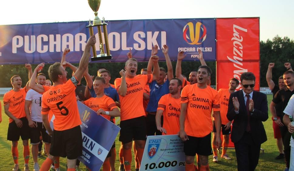 Film do artykułu: Regionalny Puchar Polski. W sezonie 2018/19 są już pierwsi zwycięzcy w małopolskich podokręgach. Trofeum na szczeblu MZPN broni GKS Drwinia