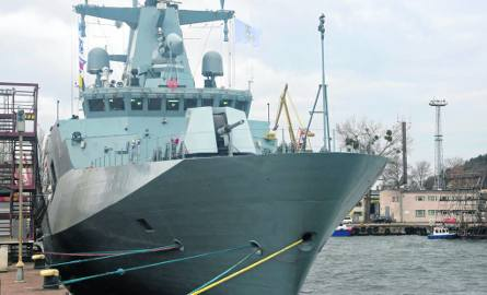 ORP Ślązak na morzu. Trwa testowanie systemów napędowych. To drugie testowanie jednostki w ostatnim czasie