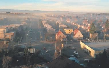 Smog w Nysie. Zdjęcie archiwalne.