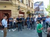 Gwiazdy światowej siatkówki na ulicy Piotrkowskiej [zdjęcia]