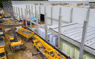 Budowa zakładu Iglotex
