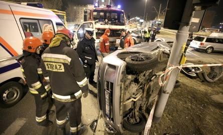 Niebezpieczne skrzyżowania w Łodzi. To na nich dochodzi do największej liczby wypadków u kolizji