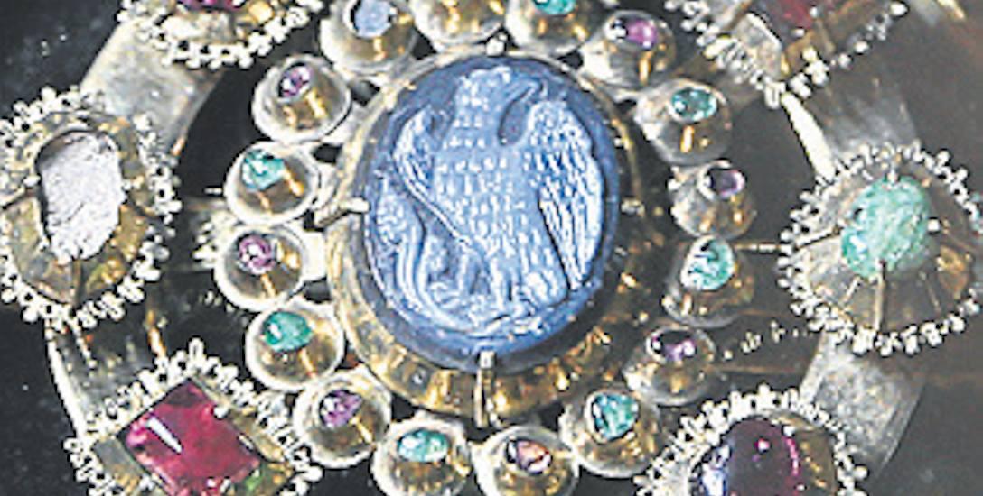 Brosza ze skarbu średzkiego