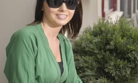 Okulary szaro-zielone - 150 zł