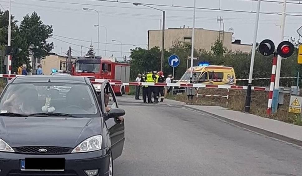 Film do artykułu: Gniezno: Pociąg relacji Warszawa - Berlin śmiertelnie potrącił rowerzystkę