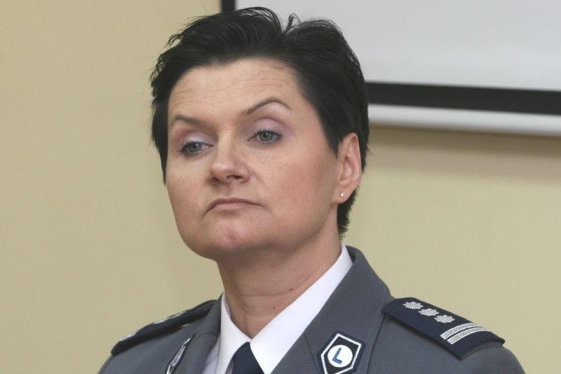 Irena Doroszkiewicz, szefowa Komendy Wojewódzkiej Policji w Opolu.