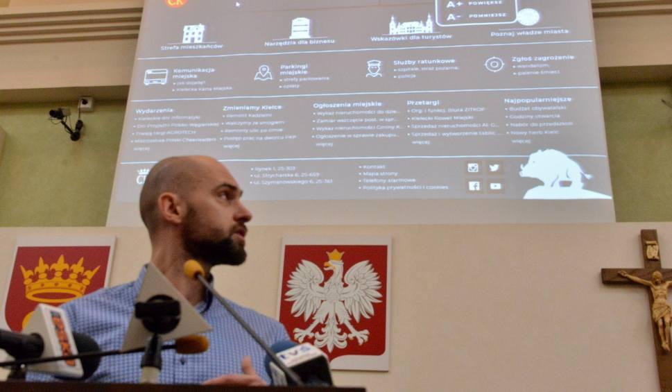 Film do artykułu: Radni proponują nową wersję strony internetowej Urzędu Miasta Kielce. Według nich stara jest przestarzała (WIDEO)