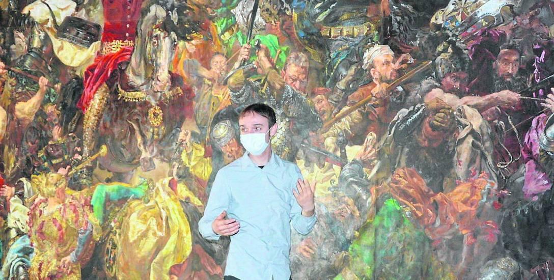 Ireneusz Rolewski postawił przed sobą trudne zadanie - zrekonstruować dzieło Matejki