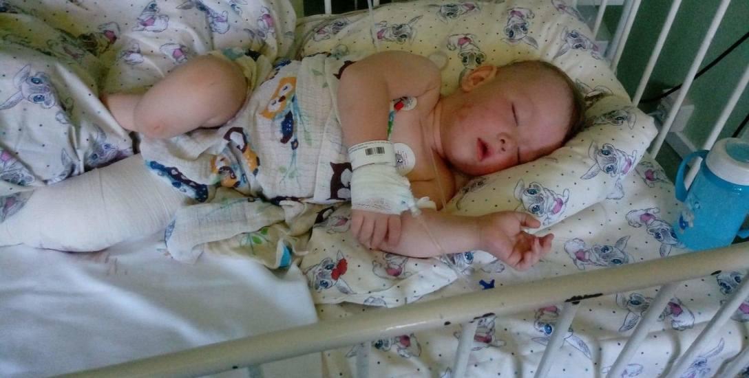 Filip Suchecki urodził się ze schorzeniem, które statystycznie trafia się raz na pół miliona urodzeń