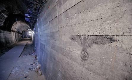 Podziemia zamku Książ wykonane przez hitlerowców siłami więźniów obozu Gross Rosen