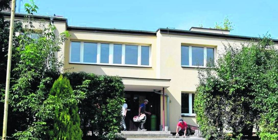 W lecie zeszłego roku parter dawnego internatu szkoły budowlanej zaadaptowano na przedszkole