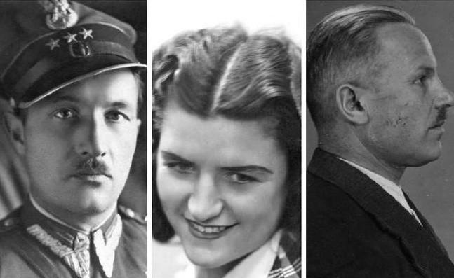 Tak wyglądał Tadeusz Ośko vel kpt. Wojciech Kossowski. Ani Urząd Bezpieczeństwa ani wojskowi prokuratorzy nie wiedzieli, jak naprawdę nazywa się ten