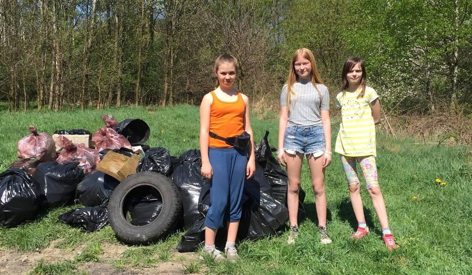 Film do artykułu: Posprzątali Okrzeszyniec! W użytku ekologicznym była zatrważająca ilość śmieci ZDJĘCIA