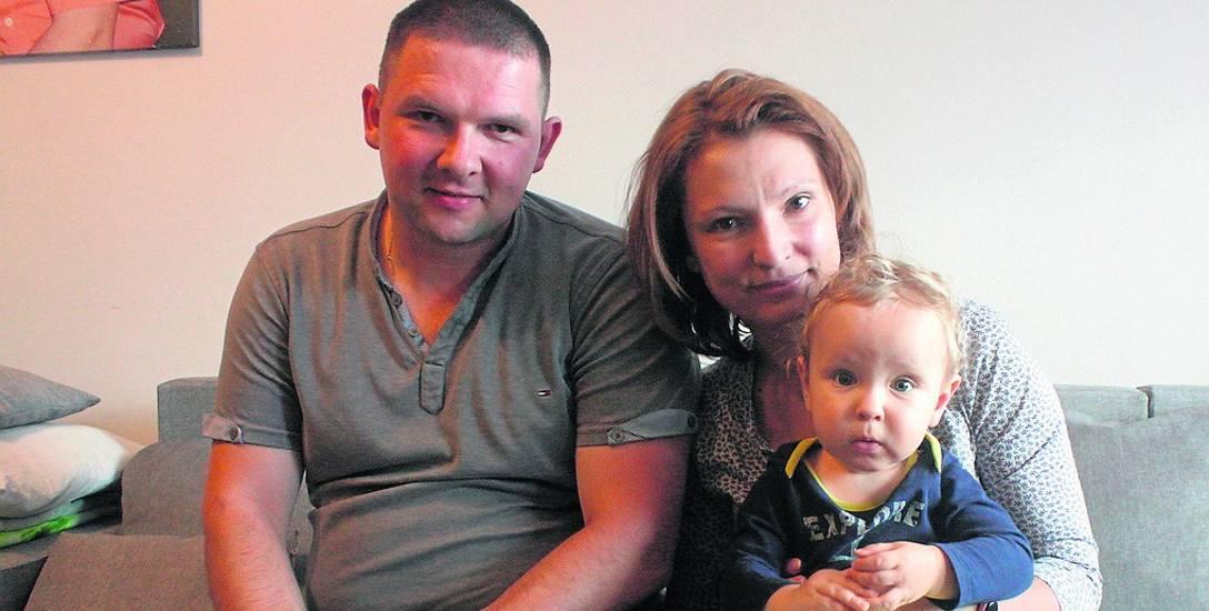 Ewa Skórka i jej mąż Grzegorz są szczęśliwymi rodzicami Tymona. To ich drugie dziecko