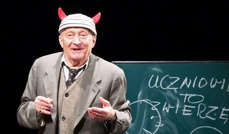 Film do artykułu: 33. Dni Sztuki Współczesnej. Wojciech Pszoniak - Belfer. Aktor spotkał się z widzami (zdjęcia, wideo)