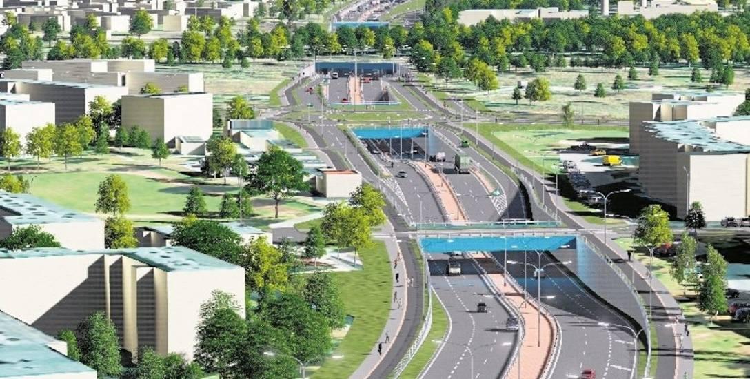 Dwujezdniowa trasa niepodległości będzie liczyć ok. 7 kilometrów. Powstanie w sumie 11 dwupoziomowych skrzyżowań, w tym tunel pod torami.