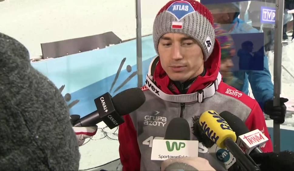 Film do artykułu: Stoch przed niedzielnym konkursem w Wiśle: Muszę skoczyć najlepiej, jak potrafię