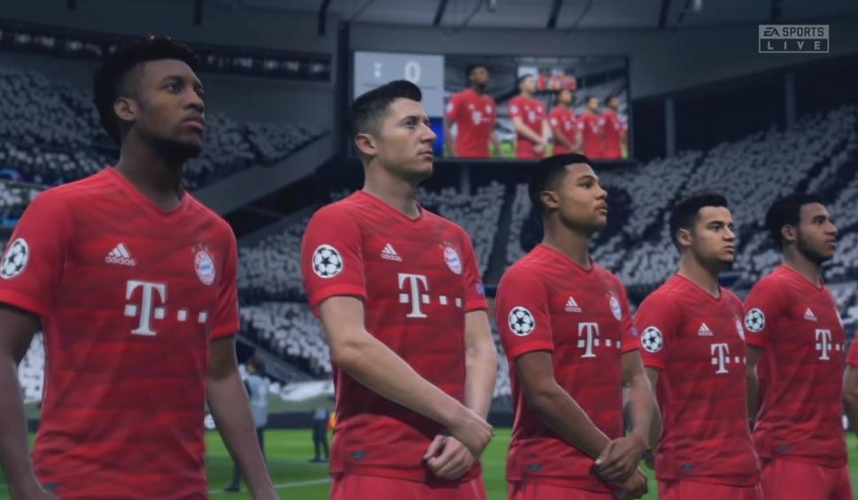 Film do artykułu: Tottenham - Bayern w FIFA 20. Zwycięstwo Bawarczyków, ale Lewandowski nie strzelił [WIDEO]