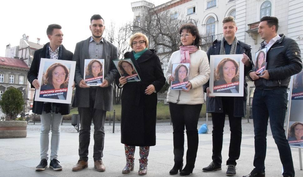 Film do artykułu: W Bielsku-Białej rozpoczęła się kampania wyborcza Małgorzaty Kidawy-Błońskiej