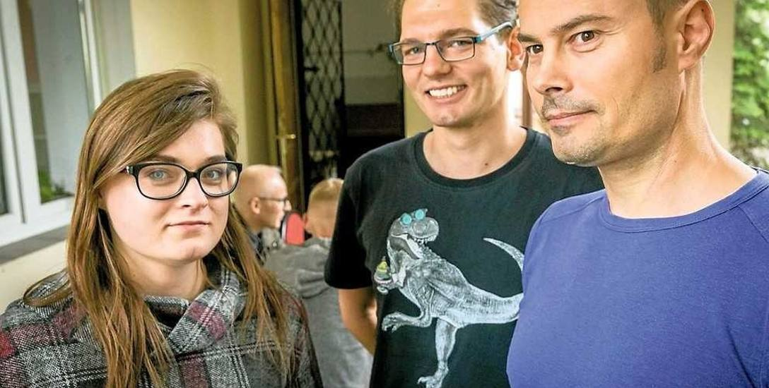 Od lewej: Katarzyna, Jakub i Sylwester