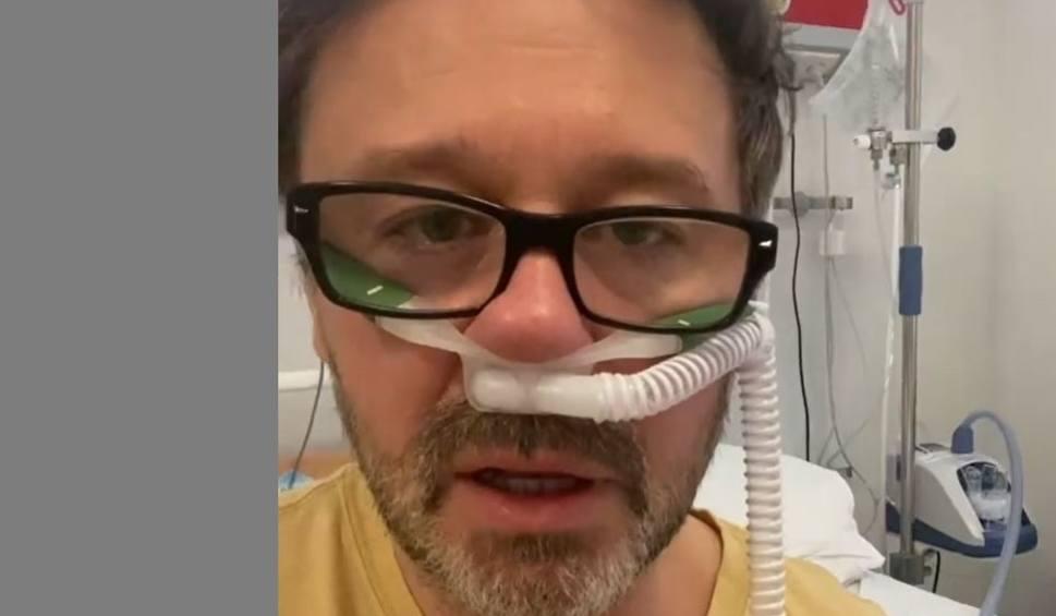 Film do artykułu: Andrzej Piaseczny zakażony koronawirusem. Poruszający film i apel ze szpitala [WIDEO]